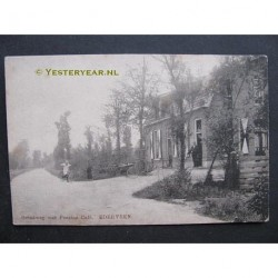 Ederveen 1900 - Grindweg met Pension Cafe