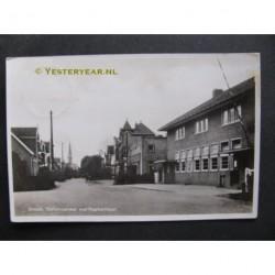 Ermelo 1938 - Stationsstraat en postkantoor