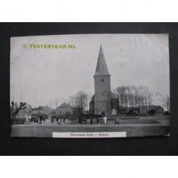 Ermelo 1911 - Hervormde kerk - dorpsgezicht