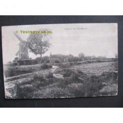 Garderen 1922 - molen landschap