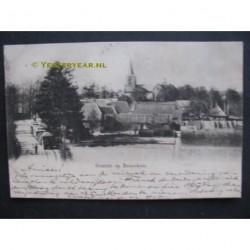 Bennekom 1904 - gezicht op - stoomtram