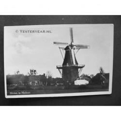 Niebert ca. 1945 - Molen - fotokaart