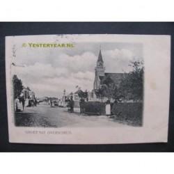 Overschild 1904 - groet uit