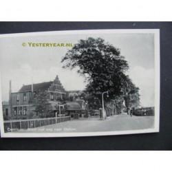 Castricum 1939 - Mient met weg naar het station