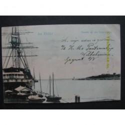 Den Helder 1903 - gezicht op den Buitenhaven