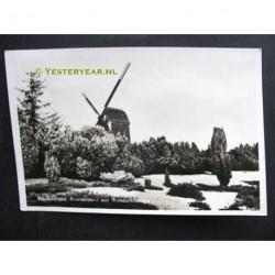 Haaksbergen 1954 - Buursezand met standaardmolen