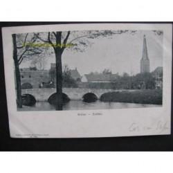 Zutphen 1903 - Ruine - gezicht op
