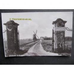 Alblasserdam ca. 1905 - Molen Souburgh - polder