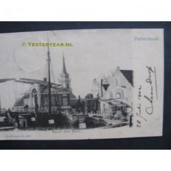 Puttershoek 1902 - Haven met Kerk
