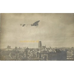Rotterdam 1910 - Olieslagers in de wolken - fotokaart