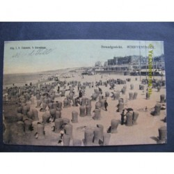 Scheveningen 1905 - strandgezicht
