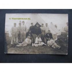 Harskamp 1912 - kazerne - tent-soldaten