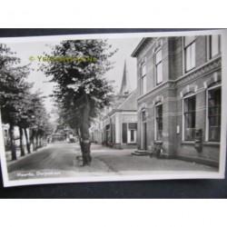 Heerde 1952 - Dorpsstraat met postkantoor