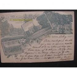 Lochem 1895 - groeten Dollehoed- litho voorloper