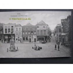 Tiel 1923 - Groenmarkt met Waterstraat