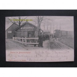 Brouwershaven 1902 - treinstation