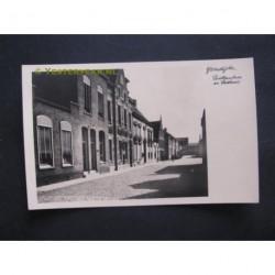 IJzendijke ca. 1940 - Raadhuis en Postkantoor