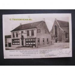 Kruiningen ca. 1925 - Hotel de Korenbeurs