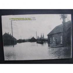 Cujk 1920 - watersnood - dorpsgezicht
