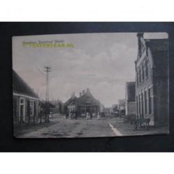 Wagenberg 1917 - Dorpstraat - Markt