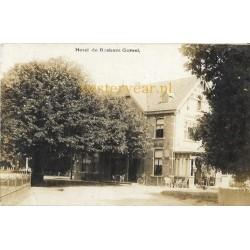 Gorssel ca. 1925 - Hotel de Roskam - fotokaart