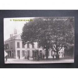 Winterswijk 1912 - Markt Post- en Telegraafkantoor- fotokaart