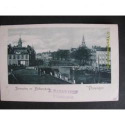 Vlissingen ca. 1905 - Beursplein en Bellamijkade