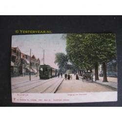Rijswijk 1906 - Haagweg met stoomtram