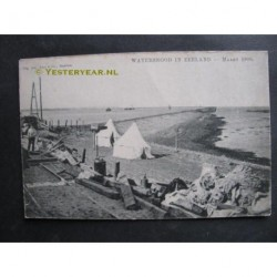 Rilland Bath 1906 - watersnood - soldaten tenten