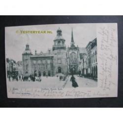 Goes 1901 - Stadhuis en Groote Kerk