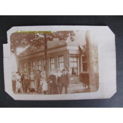 Landleven - familie ca. 1925 - fotokaart