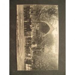 Brielle ca. 1910 - Processie - bedevaartgangers - H.Martelaren v