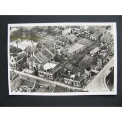 Warffum 1951 - panorama- Geref. Kerk