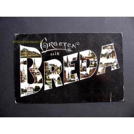 Breda 1917 - groeten uit - met 13 afb.
