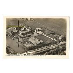 Bedum ca. 1940 - Coop.Fabriek van Melkproducten-KLM luchtfoto
