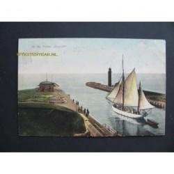 Hellevoetsluis 1909 - Hr.Ms.Kotter Vooruit