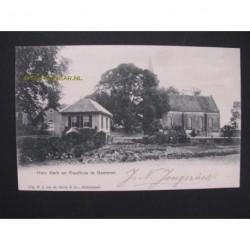 Gameren 1903 - Herv.Kerk en Raadhuis