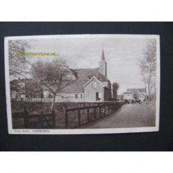 Hurwenen ca. 1925 - Prot. Kerk