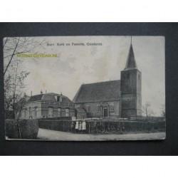 Genderen 1920 - Herv.Kerk en Pastorie