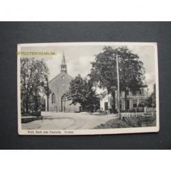 Druten 1941 - Prot.Kerk met pastorie