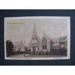Voorburg 1924 - Ned.Herv.Kerk en dienstgebouw