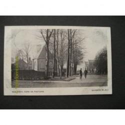 Bergeijk 1918 - Ned.Herv.Kerk en pastorie
