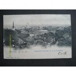 Beverwijk 1902 - Vogelvlucht vanaf Geref. Kerk