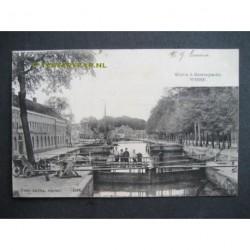 Weesp 1902 - Sluis a.d.Heerengracht