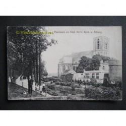 Elburg ca. 1915 - Plantsoen en Ned.Herv.Kerk