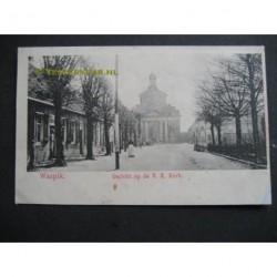 Waspik ca. 1900 - gezicht op de R.K.Kerk