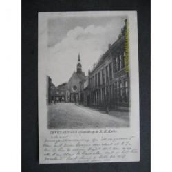 Zevenbergen 1901 - gezicht op de N.H.Kerk