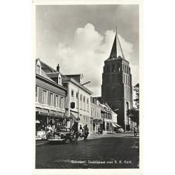 Boxmeer ca. 1950 - Steenstraat met R.K.Kerk