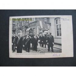 Maastricht 1906 - groep uit St.Servatiusprocessie met Noodkist