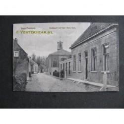 Lage Zwaluwe 1916 - Kerkbuurt met Ned.Herv.Kerk